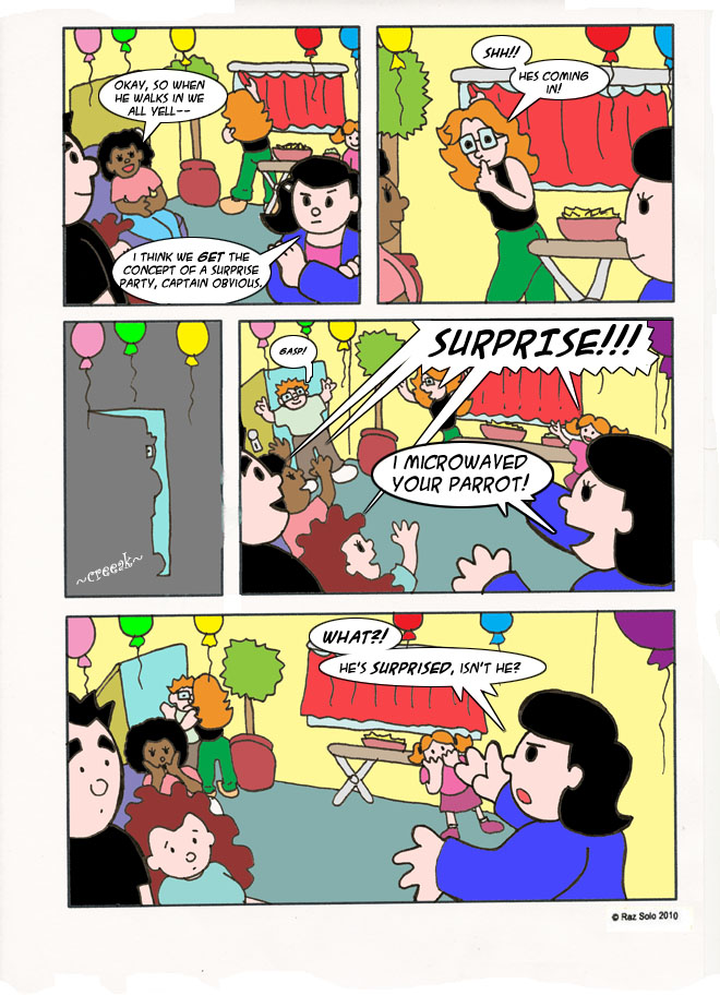 The Surprised Party